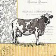 Vintage Farm 1 Art Print