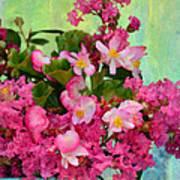 Vintage Floral Art Print