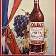 Vintage French Poster Byrrh Art Print