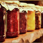 Vintage Fruit And Vegetable Preserves I Art Print