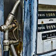 Vintage Gas Pump 2 Art Print