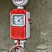 Vintage Gas Station Air Pump 2 Art Print