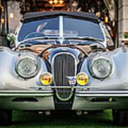 Vintage Jaguar -0924c Art Print