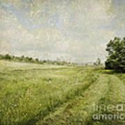 Vintage Landscape Art Print by Jelena Jovanovic