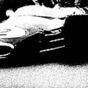 Vintage Lotus At Speed Art Print