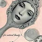 Vintage Make Up Advert Art Print