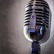 Vintage Microphone 2 Art Print