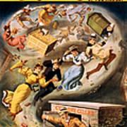 Vintage Nostalgic Poster - 8040 Art Print