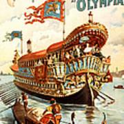 Vintage Nostalgic Poster - 8050 Art Print