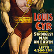 Vintage Nostalgic Poster 8061 Art Print