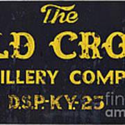 Vintage Old Crow - D008693 Art Print