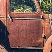 Vintage Old Rusty Truck Art Print