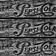 Vintage Pepsi Boxes Art Print