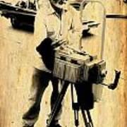 Vintage Photographer Tintype Art Print