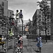 Vintage Playground Art Print