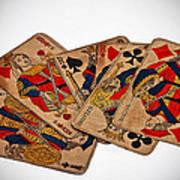 Vintage Playing Cards Art Prints Art Print