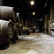 Vintage Porto Wine Cellar Art Print