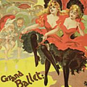 Vintage Poster   Brighton Art Print