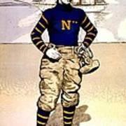 Vintage Poster - Naval Academy Midshipman Art Print