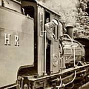 Vintage Railway Art Print