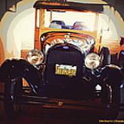 Vintage Ride  Art Print