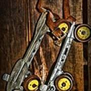 Vintage Roller Skates 5 Art Print
