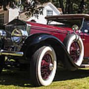 Vintage Rolls Royce Phantom Art Print
