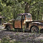 Vintage Rust Art Print by Benanne Stiens