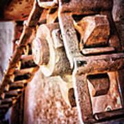 Vintage Rust Art Print by Pam Vick