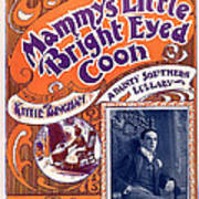 Vintage Sheet Music Cover Art Print