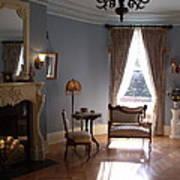 Vintage Sitting Room Art Print