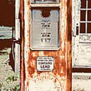 Vintage Tokheim Gas Pump Art Print