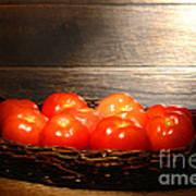 Vintage Tomatoes Art Print