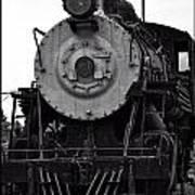 Vintage Train 90 Art Print