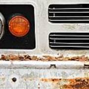 Vintage Van. Art Print