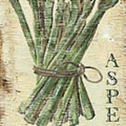 Vintage Vegetables 1 Art Print