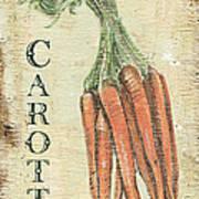 Vintage Vegetables 4 Art Print