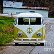 Vintage Volkswagen Bus Art Print