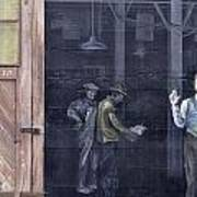 Vintage Warehouse Art Print