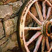 Vintage Wheel Art Print