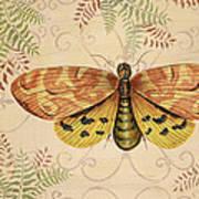 Vintage Wings-paris-c Art Print