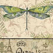 Vintage Wings-paris-g Art Print
