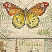 Vintage Wings-paris-l Art Print