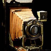 Vintaged Canadian Kodak Camera Art Print