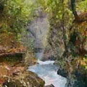 Vintgar Gorge Art Print