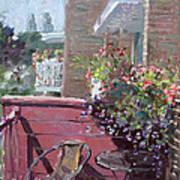 Viola's Balcony Art Print