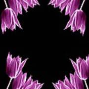 Violet Bells Art Print