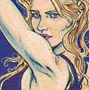 Violet Looker Art Print