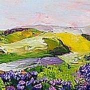 Violet Sunrise Art Print