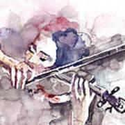 Violin Prelude Art Print